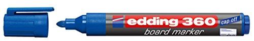 edding Whiteboardmarker edding 360, nachfüllbar, 1,5-3mm, blau