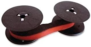 """""""Package of Three"""" Sharp EL-1197PIII Calculator Ribbon, Black and Red, Compatible"""