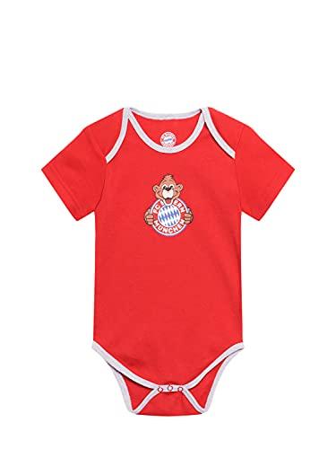 FC Bayern München Baby Body Berni rot, 62/68
