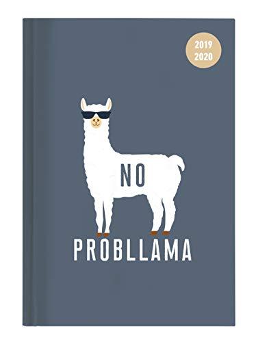 """Diario agenda scuola collegetimer """"Llama"""" 2019/2020 - Giornaliera - 352 pagine - 10x15 cm"""