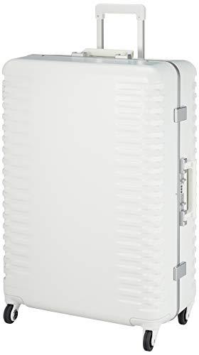 [プロテカ] スーツケース 日本製 ブリックロック ホワイトエディション 抗菌/抗ウィルスキャスター ストッパー付 限定内装柄 82L 68 cm 5.1kg ホワイト