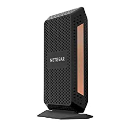 NETGEAR Nighthawk Multi-Gig Speed Cable Modem DOCSIS 3.1 for XFINITY by Comcast, Spectrum and Cox. (CM1100) 7 Delivers true Multi-Gig Internet speeds with link aggregation support Built-in high-speed DOCSIS 3.1 channel bonding cable modem Two (2) Gigabit Ethernet port with auto-sensing technology
