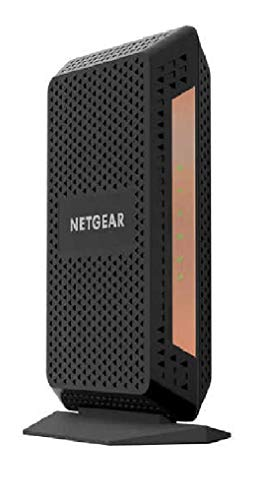 Netgear nighthawk multi-gig speed cable modem docsis 3. 1 for xfinity by comcast, spectrum and cox. (cm1100) 1 delivers true multi-gig internet speeds with link aggregation support built-in high-speed docsis 3. 1 channel bonding cable modem two (2) gigabit ethernet port with auto-sensing technology