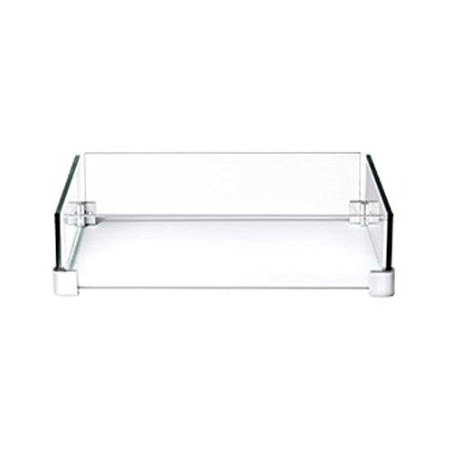 Napoleon Windschutzscheibe Patio Flame Table quadratisch Flametable Patioflame Flammentisch Feuertisch Feuerlounge Aluminium Alu