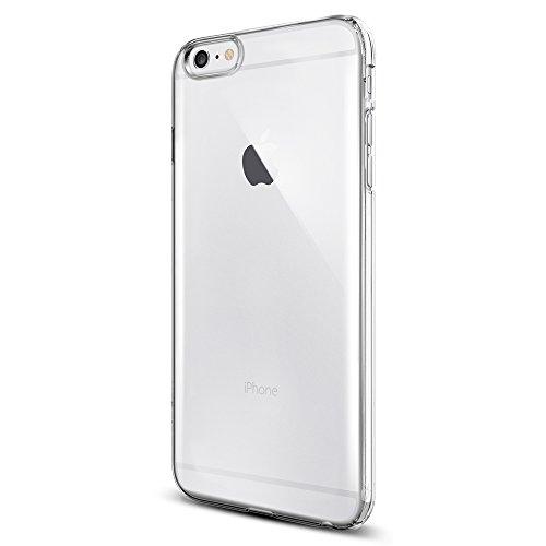 iPhone 6 Plus ケース, Spigen®  滑り防止加工  シン ・フィット Apple iPhone (5.5) アイフォン 6 プラス カバー (国内正規品) (クリスタル・クリア 【SGP10885】)