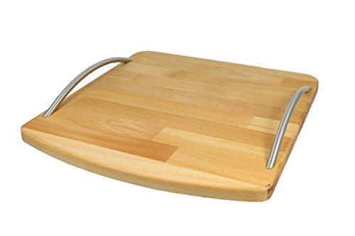 StreamBrush® Premium - Gleitbrett Holz-Gleiter aus Massivholz für den Thermomix TM5 / TM6 / TM31 Buche