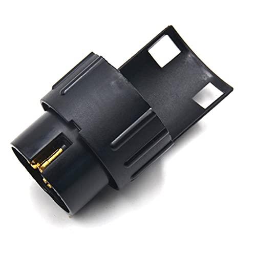 Nihlsen 1 unids negro 13pin a 7 pin hembra adaptador convertidor eléctrico camión remolque vehículo conector coche accesorios