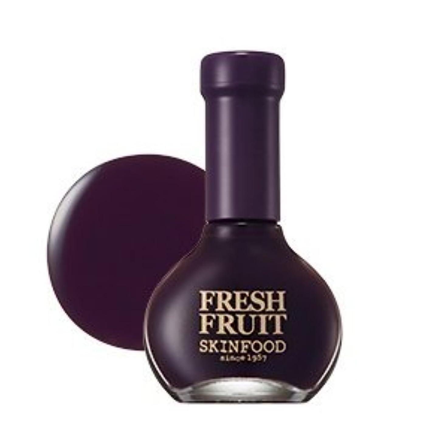 臭い火薬入力SKINFOOD Fresh Fruit Nail (Plum Collection) (No.12 Plum Oil) / スキンフード 果物ネイル(プラムメロー) [並行輸入品]