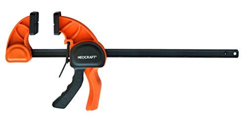 Heavy Duty Bar Clamp for Woodworking (36 inches) - Quick Grip Adjustable Handi-Clamp for Carpentry - Ratchet Bar Clamp for Furniture Assembling & Manufacturing by Neocraft