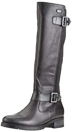 Remonte Damen D8284 Hohe Stiefel, Schwarz (Schwarz), 42 EU