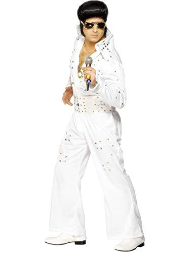 Desconocido Disfraz de Elvis Presley para hombre