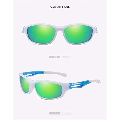 JYTBD Deportes al Aire Libre Productos/Gafas de Sol de Gafas para Hombre Gafas de Sol polarizadas Pantallas de conducción Gafas de Sol Masculinas para Hombres Gafas de Espejo de Verano