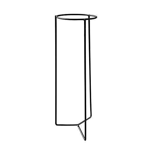 Louis Moulin Trípode para Maceta, Gris Martillado, 23.8x23.8x78 cm