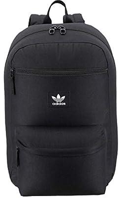 adidas Originals Unisex National Backpack, Black, ONE SIZE