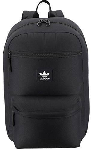 adidas Originals Unisex National Backpack, Black, ONE SIZE