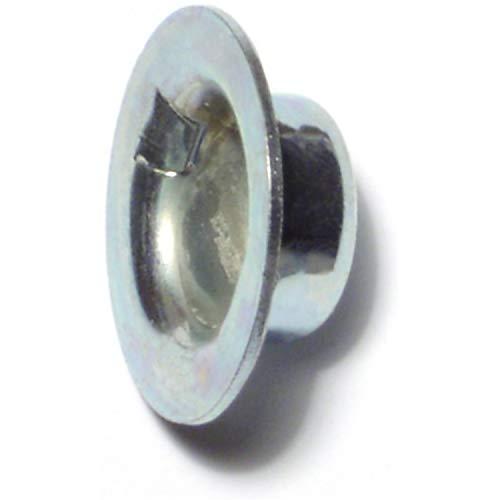 Hard-to-Find Fastener 014973222420 Washer Cap Push Nuts, 1/2, Piece-12