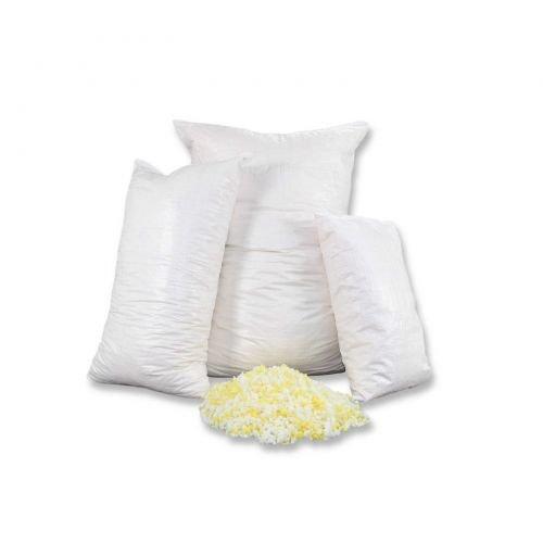 Fränkische Schlafmanufaktur 1kg Kaltschaumflocken, Schaumstoffflocken für Kissenfüllungen, Basteln