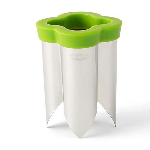 Chef'n QuickCore Pepper Corer, Green