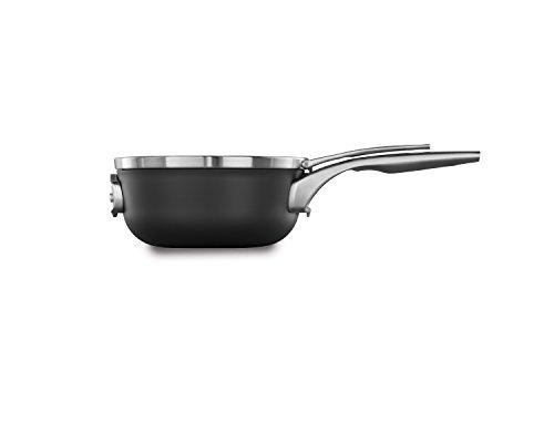Calphalon 2010451 Nonstick Sauce Chef Pan, Hard-Anodized Aluminum
