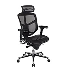 From brainstorming with colleagues to powering through an important project, the WorkPro Quantum 9000 Mesh Series High-Back Executive Desk Chair delivers the support and comfort you need to focus. A mesh seat and back offer a soft feel, while also al...