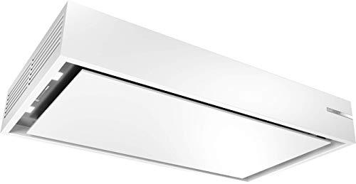 Bosch DRR16AQ20 Serie 6 Deckenlüfter / A / 105 cm / Weiß / nur Umluftbetrieb / Kochfeldbasierte Haubensteuerung / Intensivstufe / Metallfettfilter (spülmaschinengeeignet)