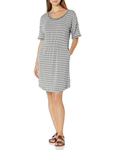 Columbia Women's Slack Water Knit Dress, City Grey Stripe, X-Large