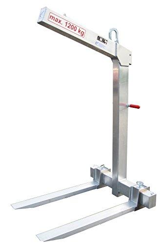 Krangabel Ladegabel aus Aluminium KL1200 1200 kg Nutzlast - automatischer Gewichtsausgleich! Qualität Made in Germany
