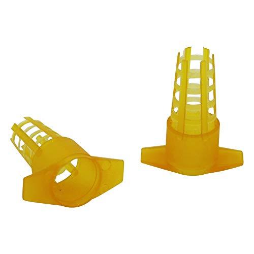 youyu6-2o521 Honey Extraction Equipment 30Pcs Beekeeping Tools Yellow...
