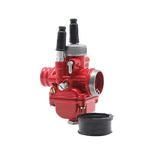 XIWEIG / Fit For - Racing PHBG/Carburetor Carb 17mm 19mm 21mm / Fit For - Dellorto Replica Puch Zuma/Fit For 50cc 70cc 90cc Motor JOG50 DIO90,Carb Carburetor (Color : PHBG 21mm red)
