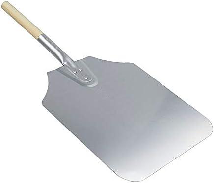 "Argon Tableware 12 x 14"" Aluminium Pizza Peel - 61cm Wooden Handle Professional Pizza Paddle"