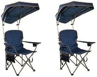 Quik Shade MAX Shade Camp Chair - Navy (2-(Pack))