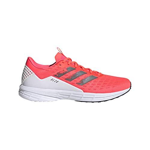 adidas Zapatillas de correr para hombre SL20, (Señal rosa/negro/blanco), 46 EU