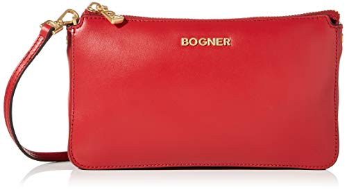 Bogner Damen Sankt Moritz Polly Shoulderbag Xshz Schultertasche, Rot (Red), 2.5x13x23 cm