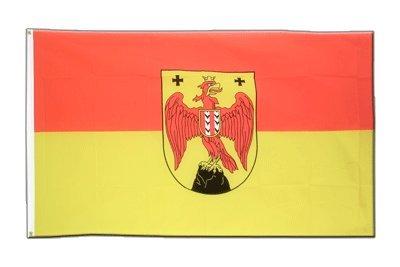 Österreich Burgenland Flagge, österreichische Fahne 90 x 150 cm, MaxFlags®