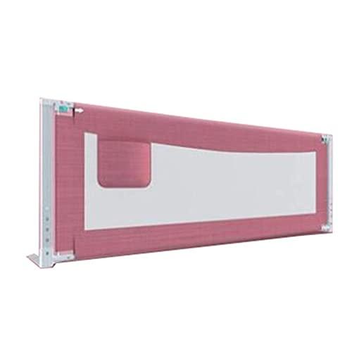 FWZJ Barandilla para cama de bebé, barrera irrompible, cama doble de 1,5 a 2,0 metros, contra el deflector en la cama (color: A, tamaño: 1,8 m)
