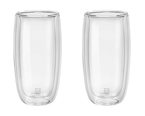 Zwilling ツヴィリング 「 ダブルウォール グラス 470ml 2pcs セット 」タンブラー ハイボール 耐熱 二重構造 カップ【日本正規販売品】 39500-120