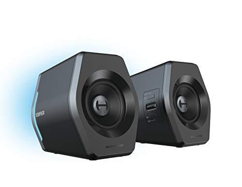 Aktivboxen Edifier G2000 2.0 Bluetooth Gaming RGB schwarz