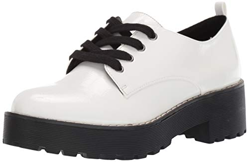 Dirty Laundry by Chinese Laundry Women's MELODIES Oxford, White Patent, 9.5 M US