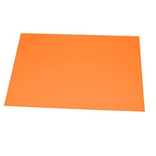 100 JUNOPAX® Papier Platzdecken Tischsets verschiedene Farben (orange)