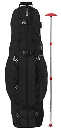 Club Glove Last Bag Medium Collegiate Black with Stiff Arm