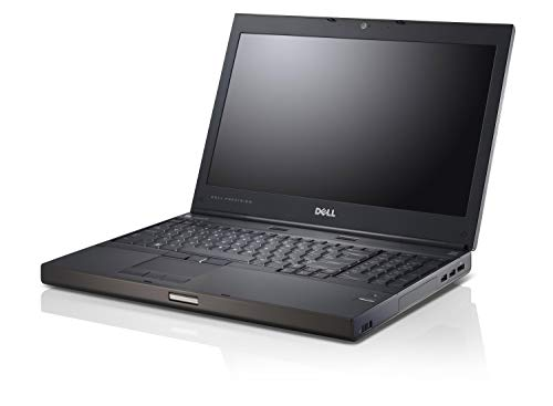 Dell Precision Workstation M4600 15.6 inch, Intel Core Quad i7 2820QM Upto 3.4GHz, 8G DDR3, 480G SSD, 1G VC, WiFi, DVD VGA, HDMI, USB 3.0, Windows 10 64 Bit-Multi-Language (Renewed)
