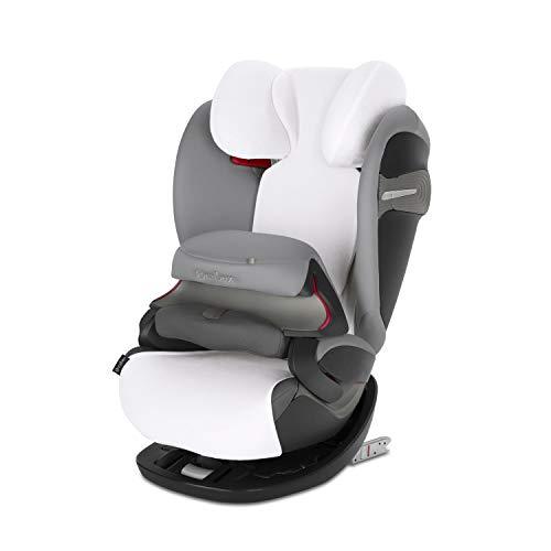 CYBEX Sommerbezug, Für Kinder-Autositz Pallas S-Fix & Solution S-Fix, Weiß