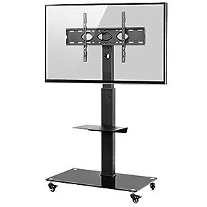 TV-KOMPATIBILITÄT - Kompatible VESA: 100x100 - 600x400 mm(wie 600x400/500x300/400x400/400x200/400x300/300x300/300x200/200x300/200x200/200x100/100x200/100x100mm...). Für die meisten 32 36 40 42 43 46 48 49 50 55 60 65 70 Zoll LCD LED OLED Flach&Curved...