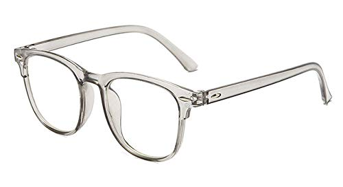 Gafas Transparentes Para Ordenador, Montura Para Mujeres Y Hombres, Gafas Redondas Anti Luz Azul, Gafas De Bloqueo, Gafas Ópticas