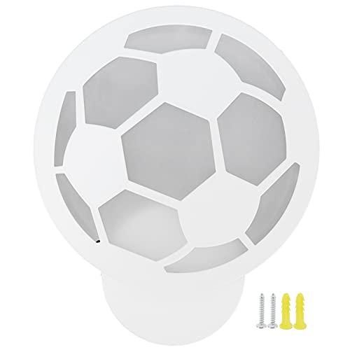 Regalos de fútbol para hombres, buena transmisión de luz Regalos de fútbol para niños Resistencia a altas temperaturas Forma de fútbol para dormitorio