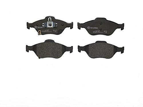 4-teilig Scheibenbremse Brembo P 50 080 Bremsbelagsatz