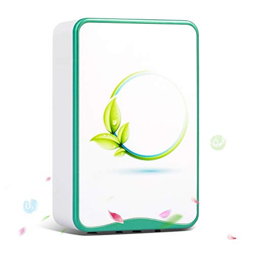 Air Purifiers Plug In for Home,Mini Portable Silent Air Purifier,Travel-Size Air Cleaner for House...