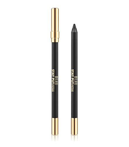 Milani Stay Put Waterproof Eyeliner - (0.04 Ounce) Cruelty-Free Eyeliner - Line & Define Eyes with High Pigment Shades for Long-Lasting Wear (Stay with Slate)
