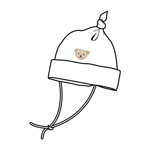 Steiff Baby-Mädchen Mütze, Weiß (Bright White 1000), 47