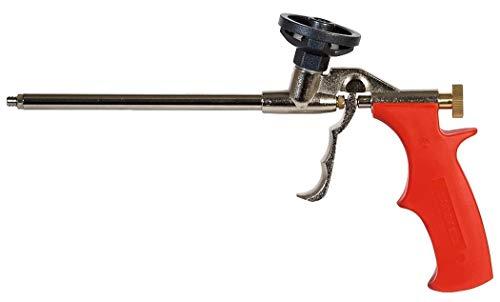 fischer Metallpistole PUPM 3 Schaumpistole aus Metall mit PTFE-beschichtetem Schraubadapter Für die schnelle und professionelle Verarbeitung von Einkomponenten-Montageschäumen, 1 Stück, Art-Nr. 33208